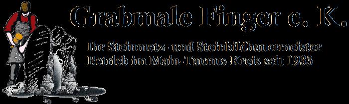Logo Grabmale Finger